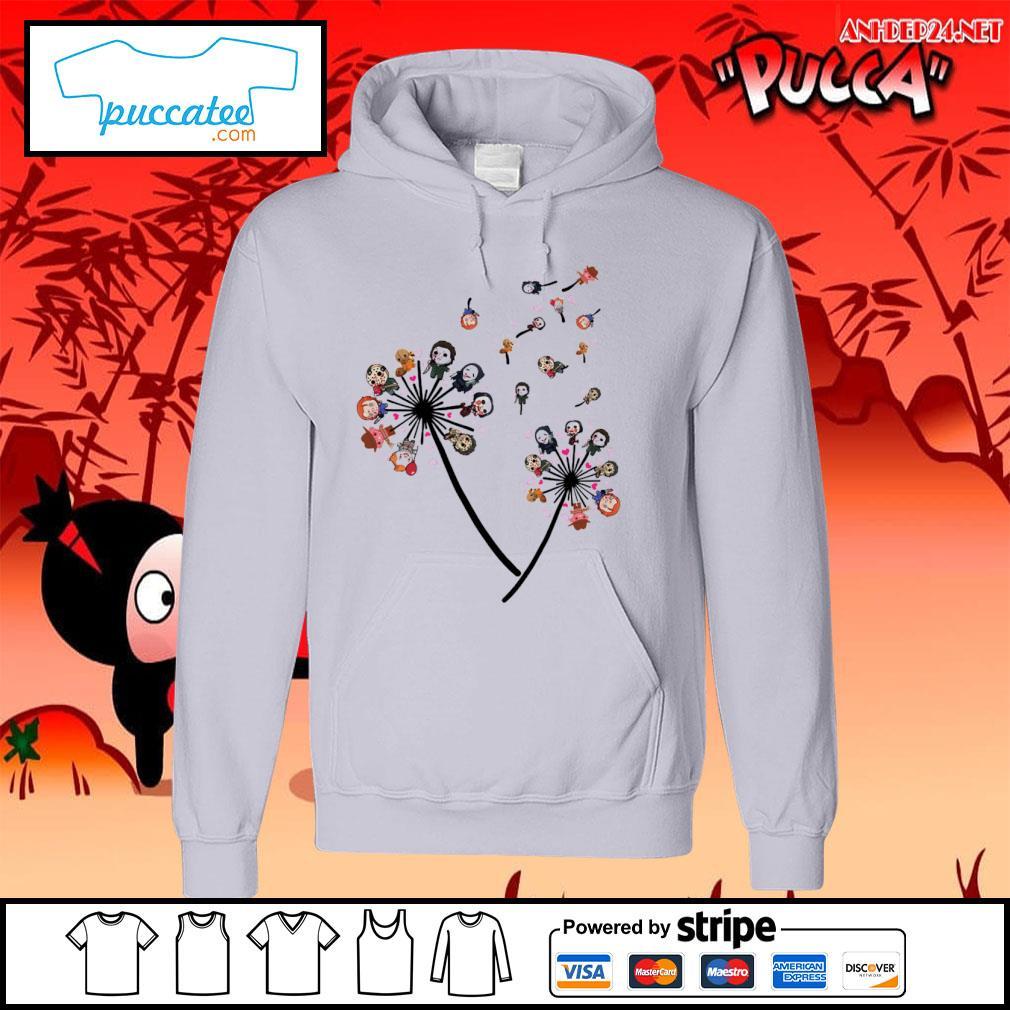 Horror Movies chibi characters dandelion s hoodie.jpg