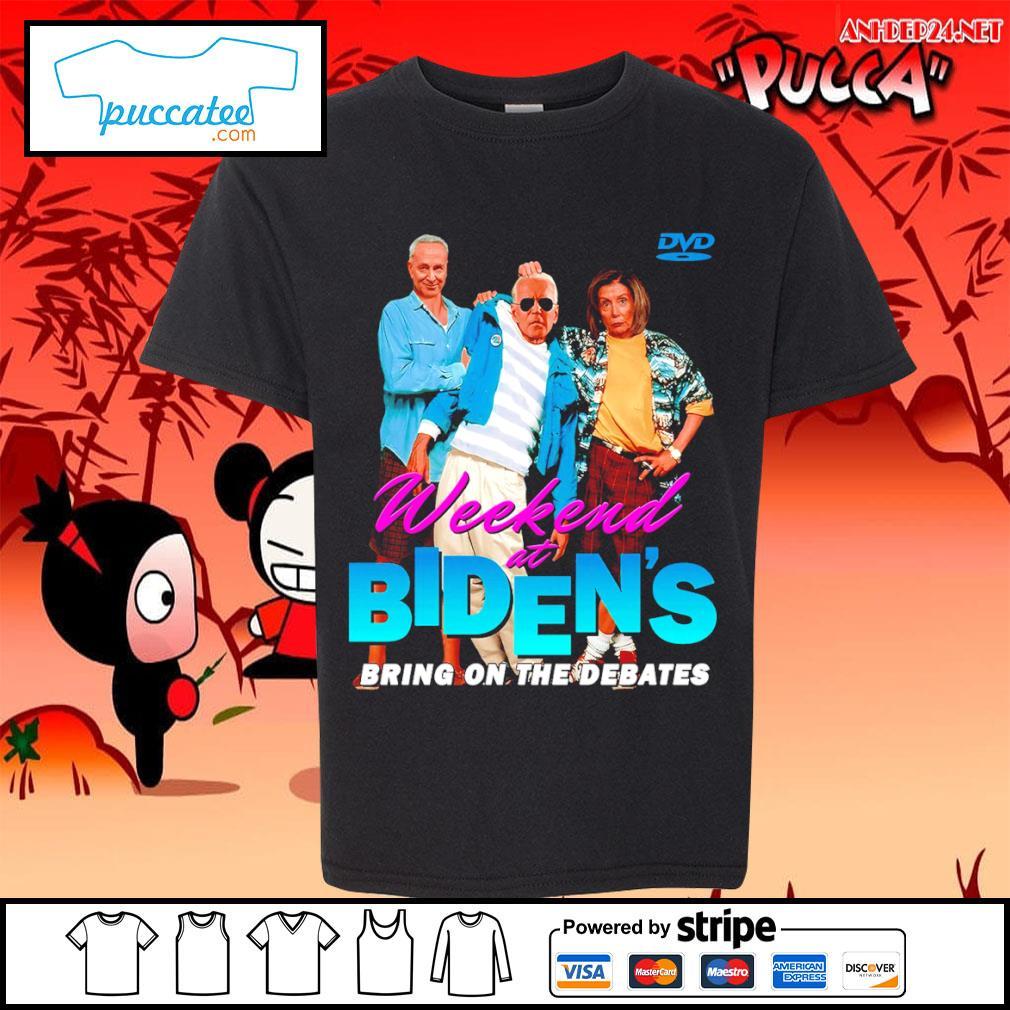 Joe Biden Weekend at Biden's bring on the debates s youth-tee.jpg