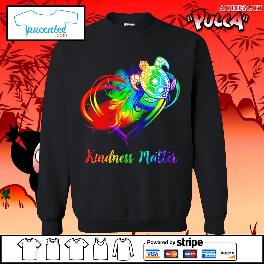 LGBT turtle kindness matter s sweater.jpg