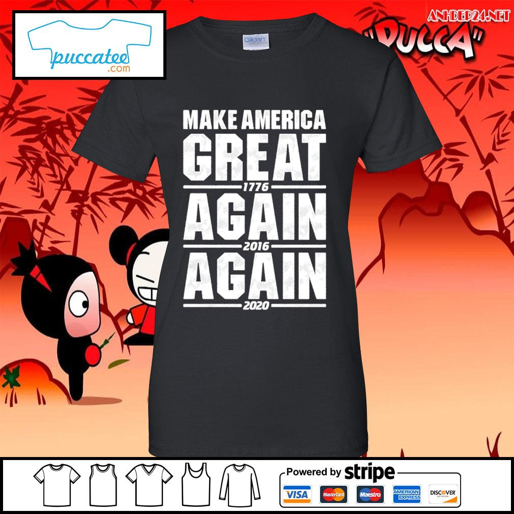 Make America great 1776 again 2016 again 2020 s ladies-tee.jpg