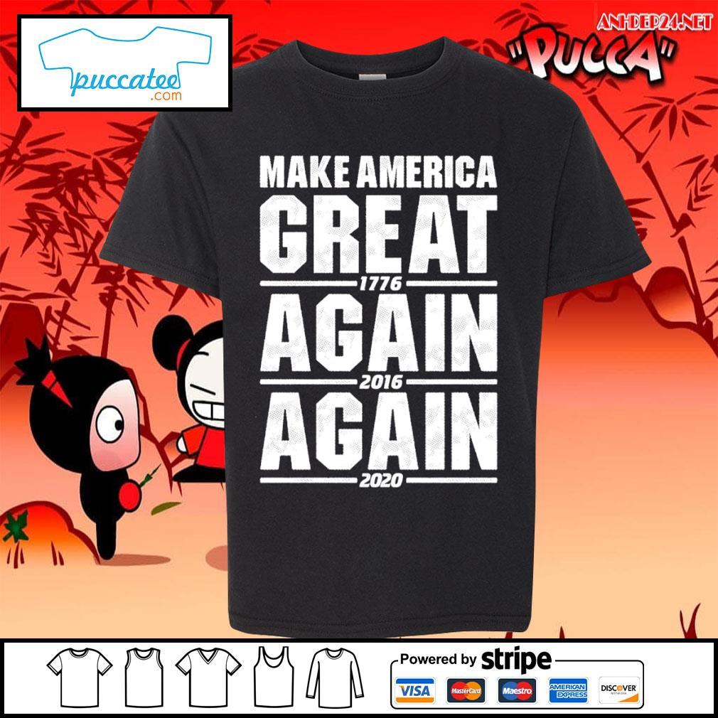 Make America great 1776 again 2016 again 2020 s youth-tee.jpg