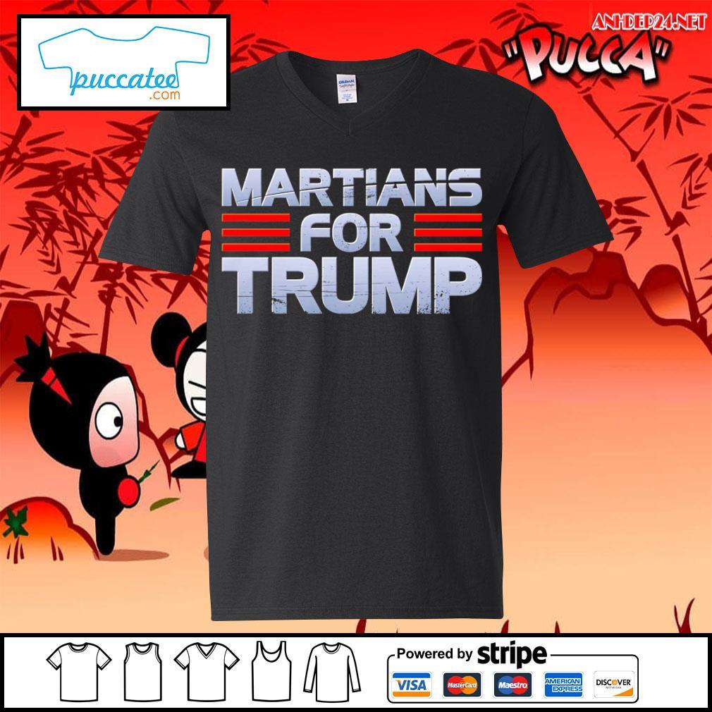 Martians for Trump s v-neck-t-shirt.jpg