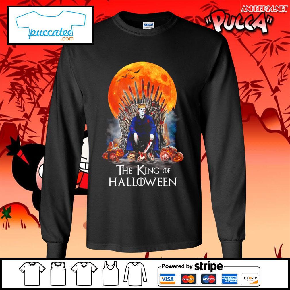 Michael Myers the King of Halloween s longsleeve-tee.jpg