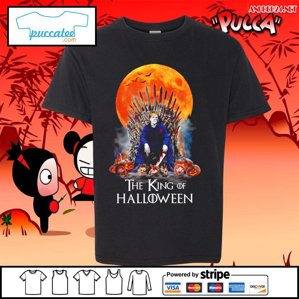 Michael Myers the King of Halloween s youth-tee.jpg