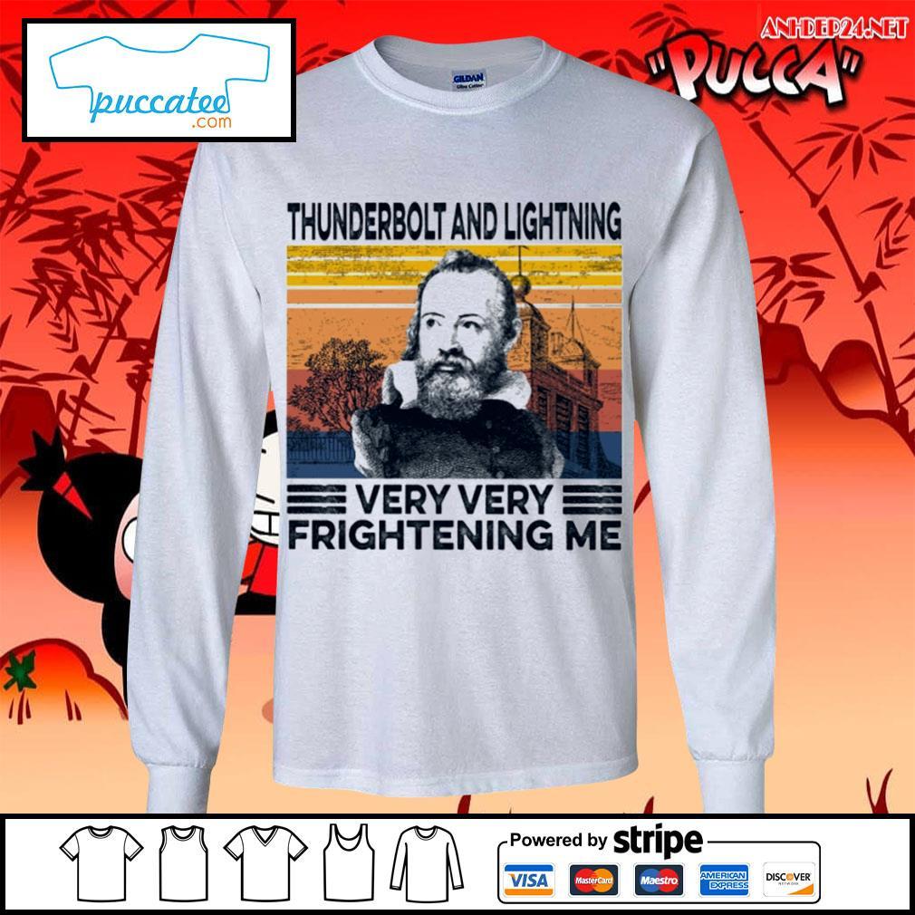 Thunderbolt and lightning very very frightening me vintage s longsleeve-tee.jpg