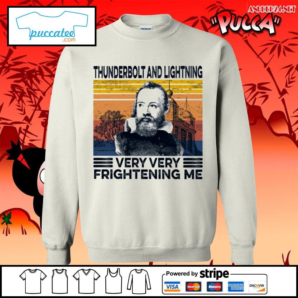 Thunderbolt and lightning very very frightening me vintage s sweater.jpg