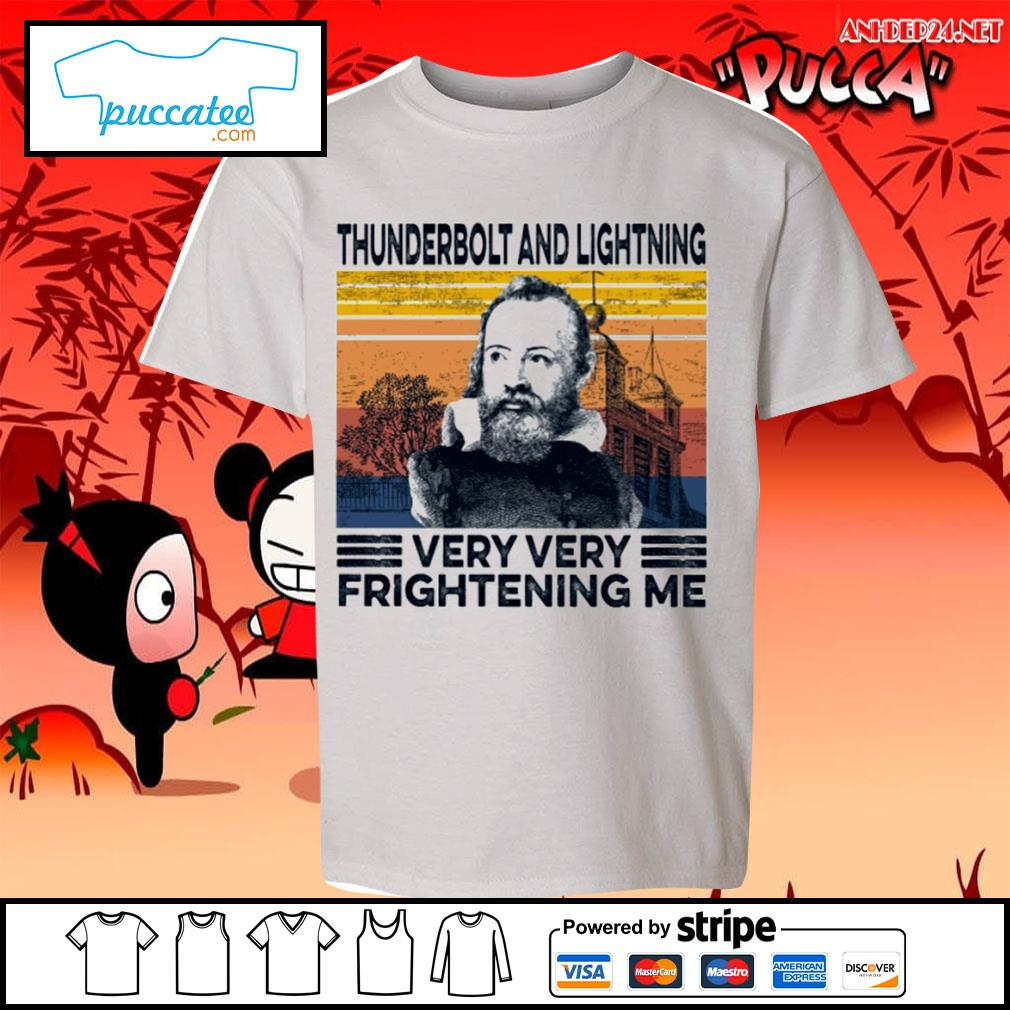 Thunderbolt and lightning very very frightening me vintage s youth-tee.jpg