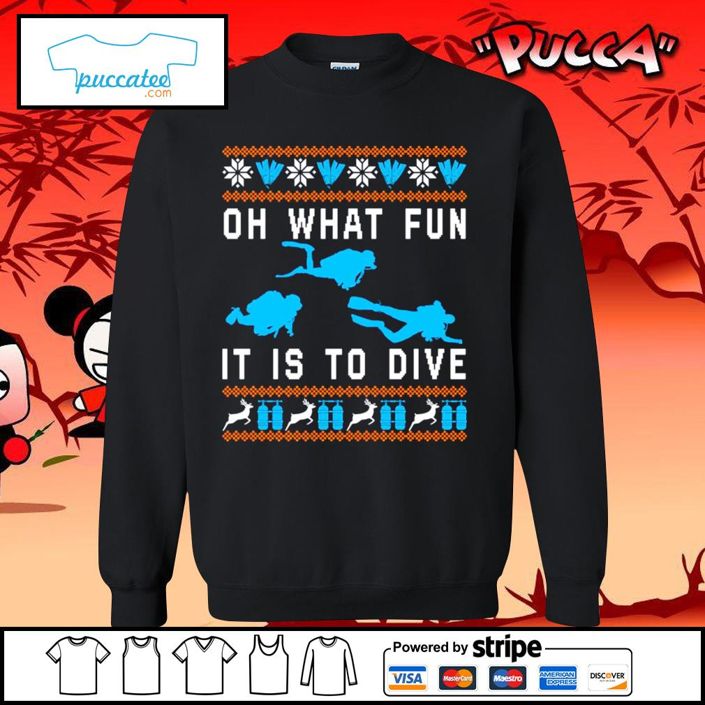 Oh what fun it is to dive ugly Christmas s sweater